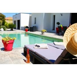 JUILLET réserver maison de location luxe au Grau d'Agde