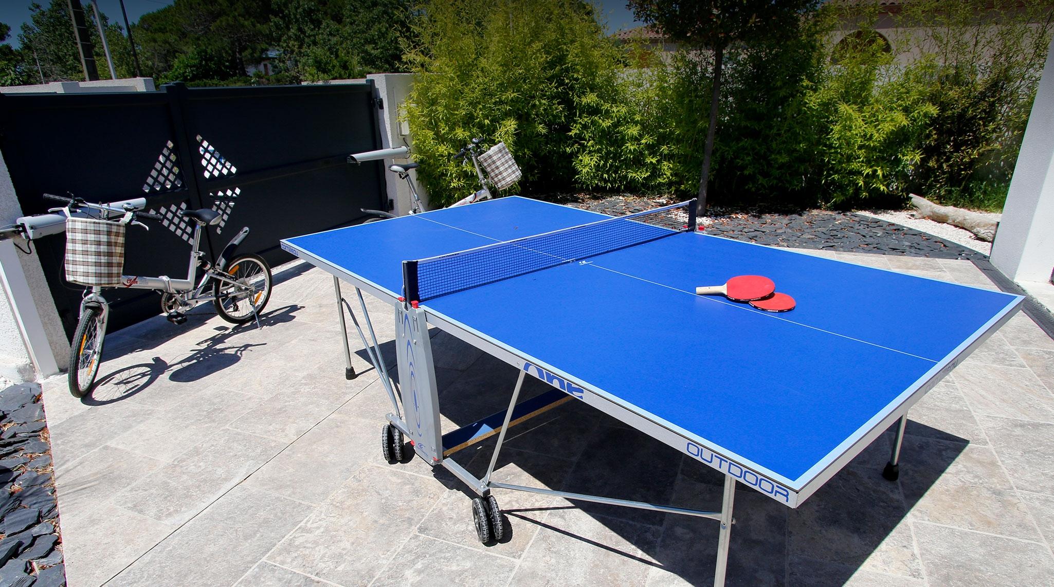 Sport et activité de loisir pour la location de la villa